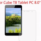 "4pcs LCD Screen Protector Guard Shield Cover Film For Cube T8 Tablet 8.0"" inch      BT1"