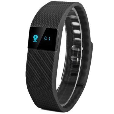 TW64 Smart Sports Wristwatch  -  BLACK 119641101