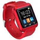U80 Smart Bluetooth Watch Call Message Reminder Sleep Monitor  -  RED 123159201