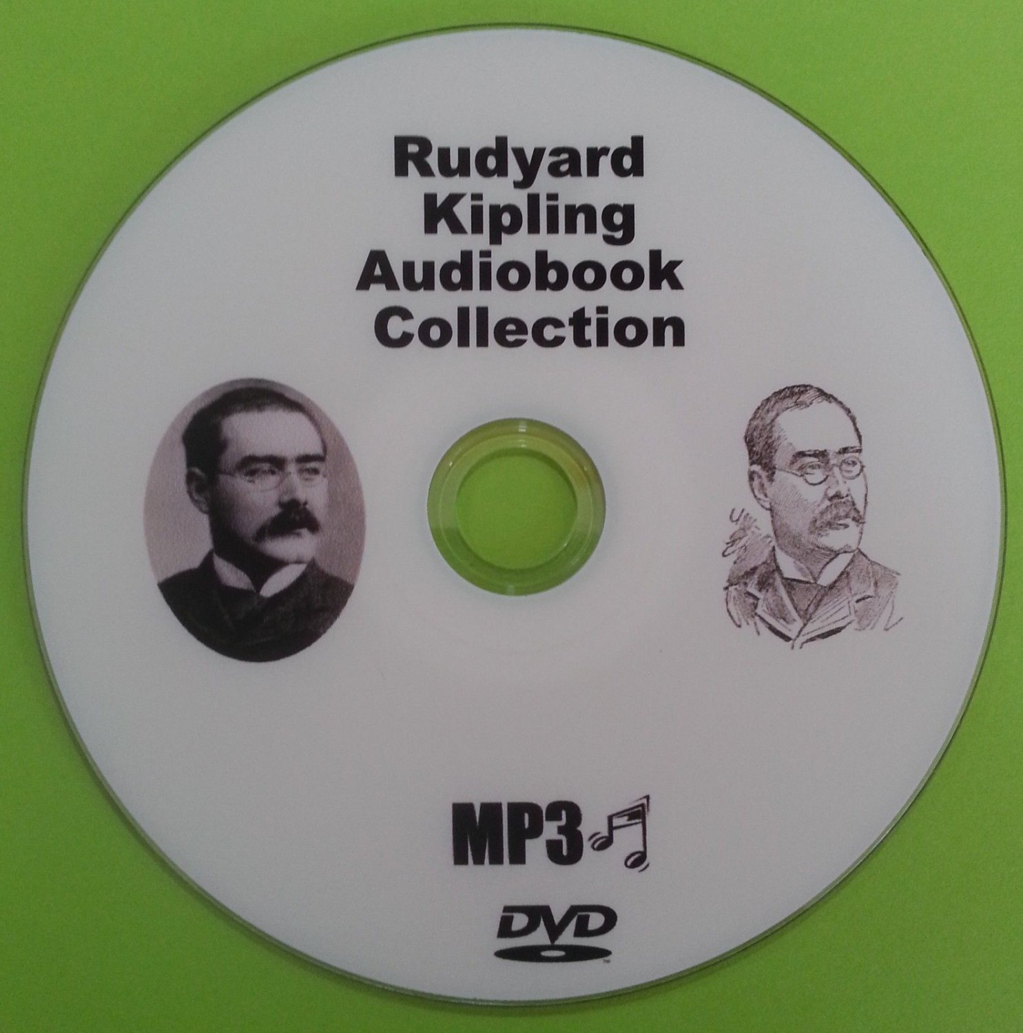 Rudyard Kipling MP3 Audio Book Collection On DVD Jungle Book, Just So Stories     HG5