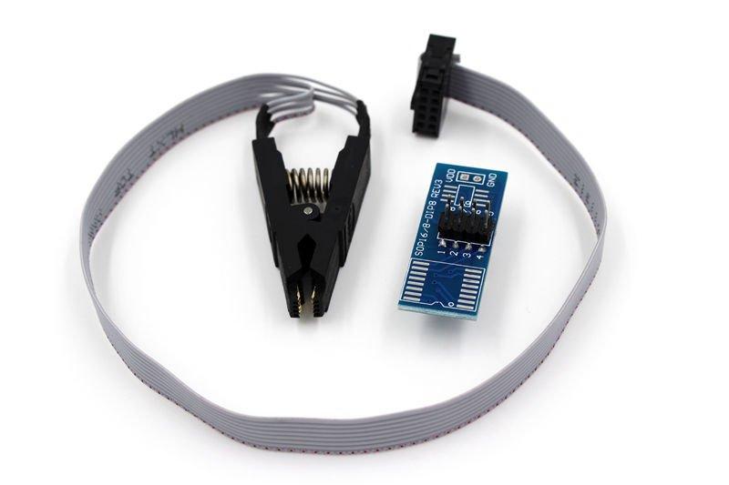 Testing Clip EEPROM/ 93CXX / 25CXX / 24CXX Program SOP SOIC 8 WAY IC Test Clamp    AS1