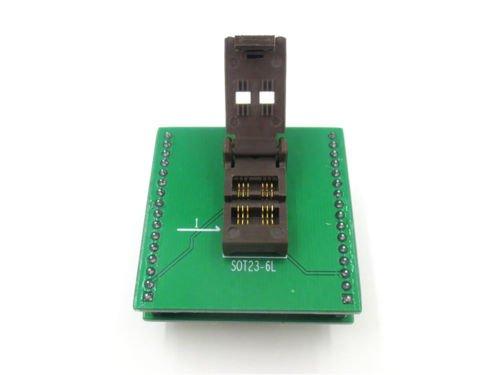 SOT23 SOT23-6 SOT23-6L IC Test Socket / Programmer Adapter / Burn-in Socket        AS1