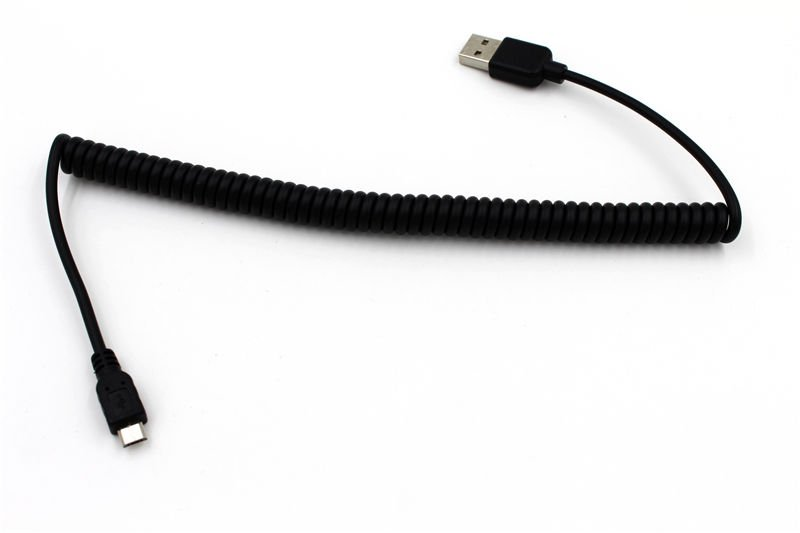 USB DC Charger Data Sync Spring Cable for Amazon Kindle Paperwhite B008GEKXUO   JH1