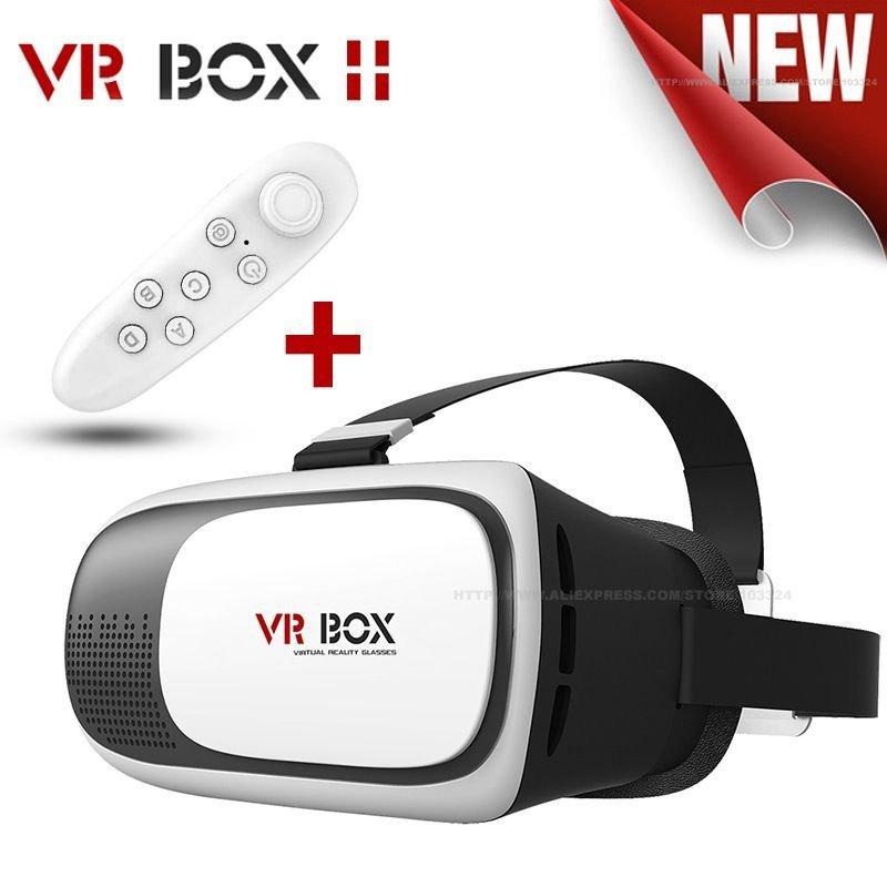 VR Box II 3D Glasses Google Cardboard Virtual Reality with a Bluetooth