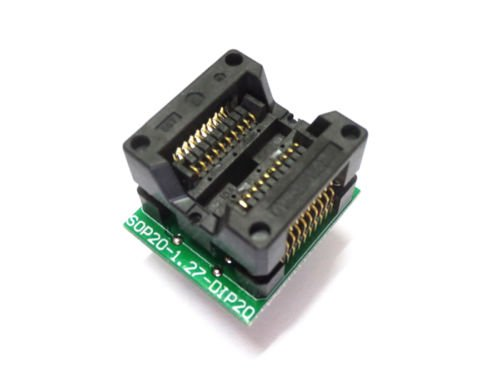 SOP20 to DIP20 programmer adapter Socket adapter       B01