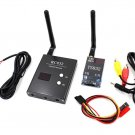 Boscam 48Ch 5.8G 600mw 5km Wireless AV Transmitter TS832 Receiver RC832 for FPV        B01
