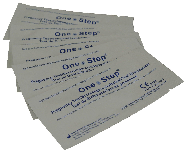 One Step® 35 x Pregnancy Tests Strips 10mIU Home Urine Test Kits     BR
