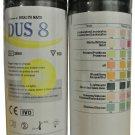 100 x 8 PARAMETER DOCTOR Test Strips Ketone,Glucose,pH,Blood,Urine Infection/UTI    AS