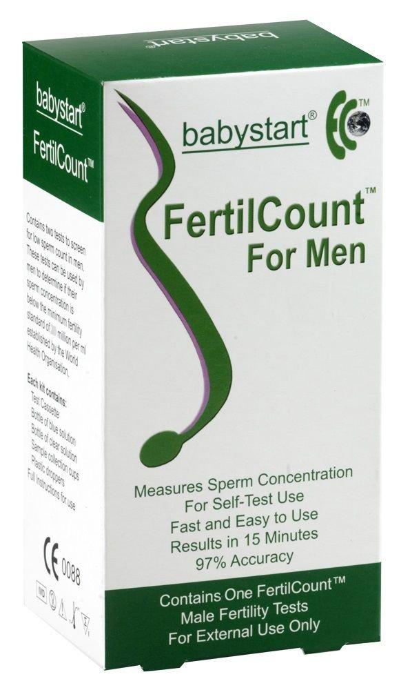 1 x Babystart Fertilcount Male Fertility - Active Sperm Count Test Kit    AS