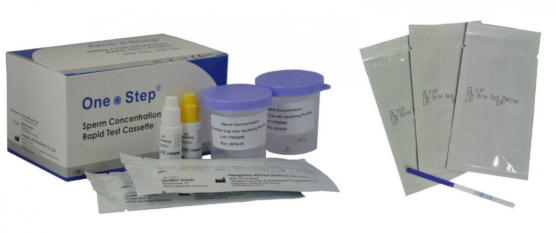 2 X One Step® Male Fertility - Active Sperm Test      CR