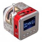 New Arrival TT-028 Portable Mini Multimedia Speaker with FM Radio /LCD screen /SD Slot