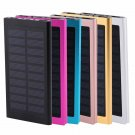 Portable Super Power Bank Solar Charger Dual USB External Battery 50000mAh