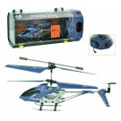 AVATAR Z008 4CH 2.4G Metal RC Remote Control Helicopter LED Light GYRO RTF Blue
