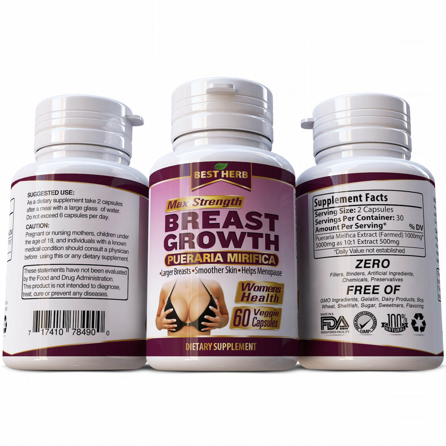 Breast With Pueraria Mirifica