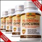 Strongest Organic Turmeric 95% Curcumin BioPerine Black Pepper Tumeric Capsules