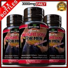 3 X WEIGHT LOSS FOR MEN FAT BURNER DETOX SLIMMING CAPSULES DIET GARCINIA HCA 95%