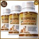 Turmeric Curcumin Hip Stiff Joint Support Supplement Dogs Pets Tumeric Capsules