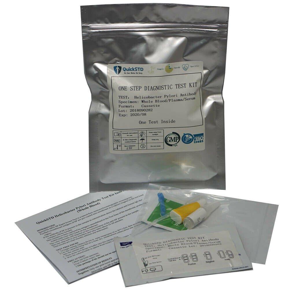 Helicobacter Pylori Antibody Test Kit test at home