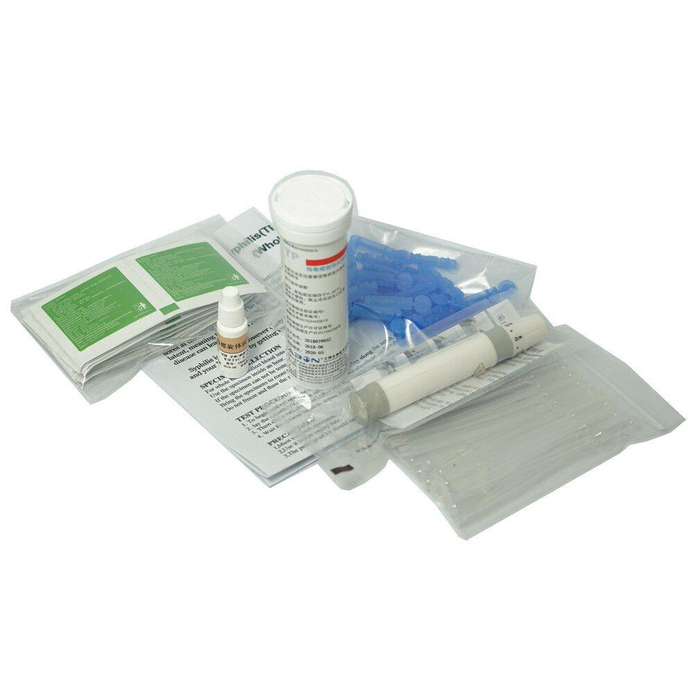 25X Quick STD Syphilis (TP) Test Strip Kits