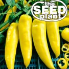 Hungarian Wax Hot Pepper Seeds - 100 SEEDS NON-GMO