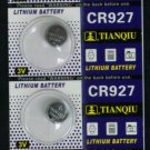 5 CR927 CR 927 3 Volt Lithium Button Cell Battery