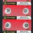 10 LR66 AG4 376 377 LR626 1.5V Alkaline Battery Watch