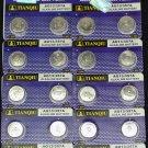 20 AG13 LR44 357 157 303 A76 LR154 L1154 1.5V Alkaline Battery