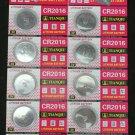 10 CR2016 CR 2016 DL2016 3 Volt Lithium Button Cell Battery
