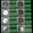 10 Tianqiu CR2025 BR2025 KCR2025 5003LC LM2025 3 Volt Lithium