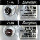 Energizer 371 2 Qt. Battery SR920SW SR920W V371