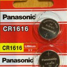 2 Panasonic CR1616 ECR 1616 Battery 3V