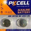 AG8 PKCell LR1120 191 391 SR1120 381 LR55