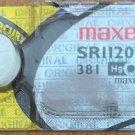 Maxell 381 SR1120SW Silver Oxide