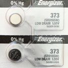 2-ENERGIZER 373 Battery SR916SW