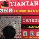 CR1632- 1QT TIANTAN CR 1632 DL1632 BR1632 3 Volt Lithium