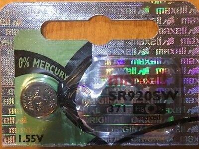 Maxell 371 -1 Battery SR920SW SR920W