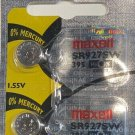 2- Maxell 395 SR927SW Silver Oxide