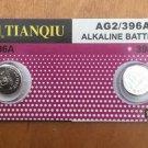 AG2-2 Pcs 396 Tianqiu Alkaline Button Cell Battery