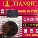 1 -CR2016 DL2016 BR 2016 Tianqiu Lithium Battery 3V Remote