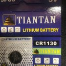 CR1130- 1Qt TIANTAN CR 1130 ECR1130 Lithium Coin Cell Battery 3V