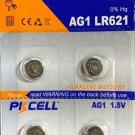 2-AG1 (4 Qt.)PKCELL SR621 LR621 364 LR60 164 LR621
