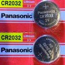 2 Panasonic CR2032 ECR 2032 Battery 3V