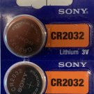 2-Sony 2032-CR2032 Lithium Battery 3V