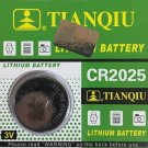 CR2025-1 Tianqiu ECR2025 DL2025 Battery