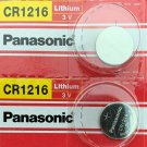 2- Panasonic CR1216 Lithium Button Cell Battery