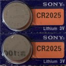 2 - Sony CR2025-2 Qt. ECR2025 DL2025