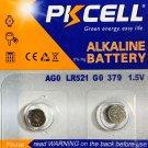 AG0 PKCell 2Qt LR63 179 LR521 379 1.5V/10mAh