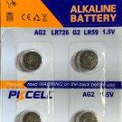 2-AG2 (4 Qt,) PKCell 396 Alkaline Button Cell Battery