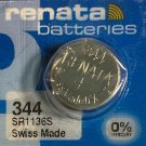 1-Renata 344 SR1136 SR1136SW V344 242 batteries /battery