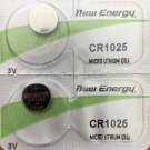 2 - CR 1025 New Energy Watch Battery